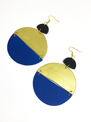 two-tone-circle-earrings