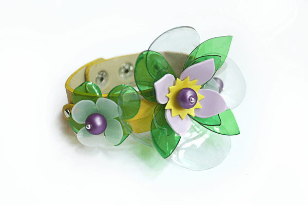 yellow_leather_bracelet_with_flower