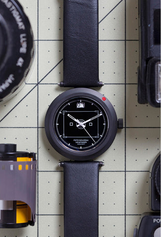 Viewfinder Watch Black Dial