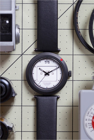Viewfinder Watch White Dial