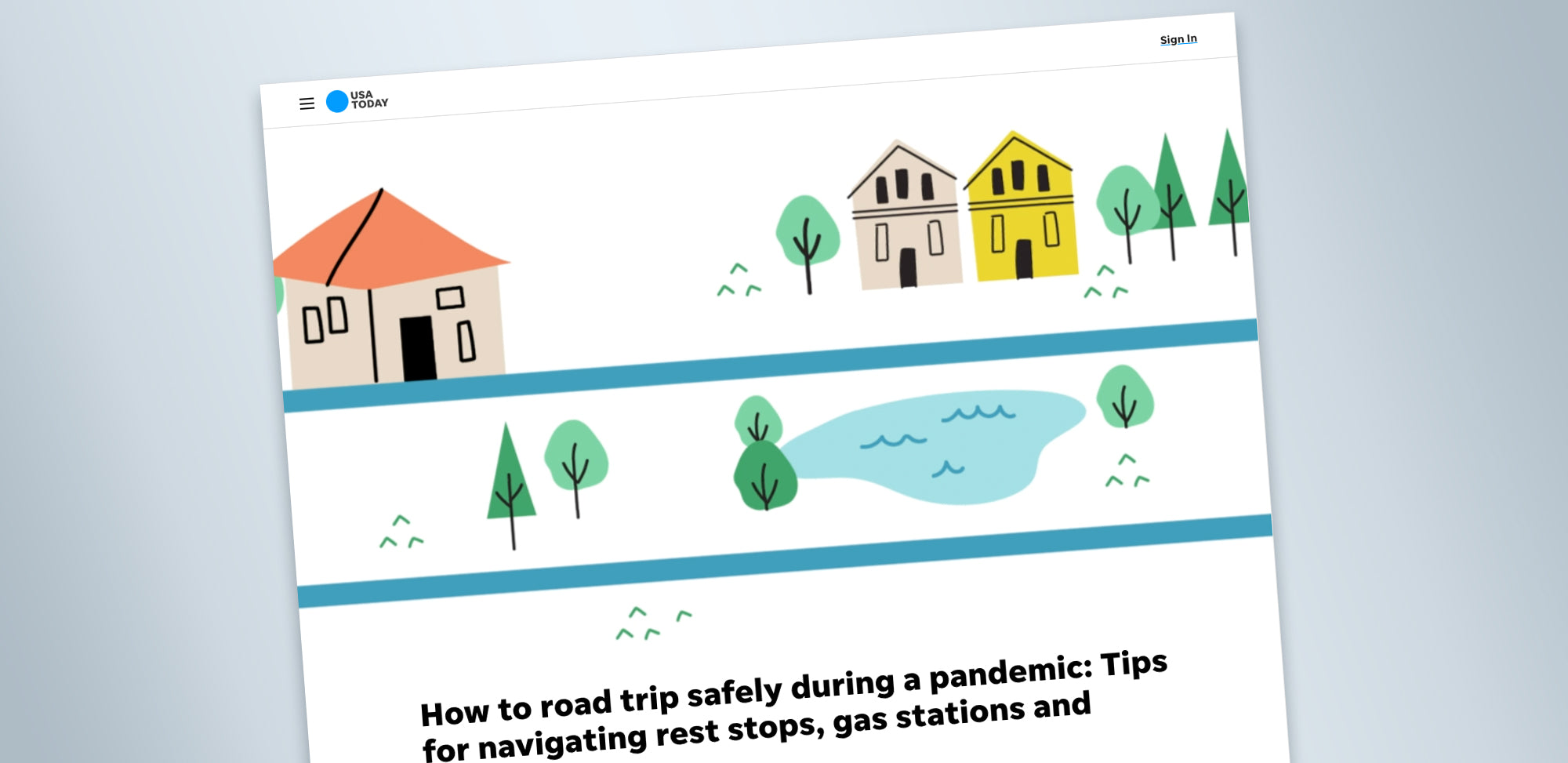 How to road trip safely during a pandemic: Tips for navigating rest stops, gas stations and hotels