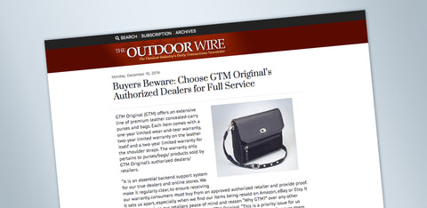 Always Go Original: GTM Original - Benefits to Both Buyer and Seller