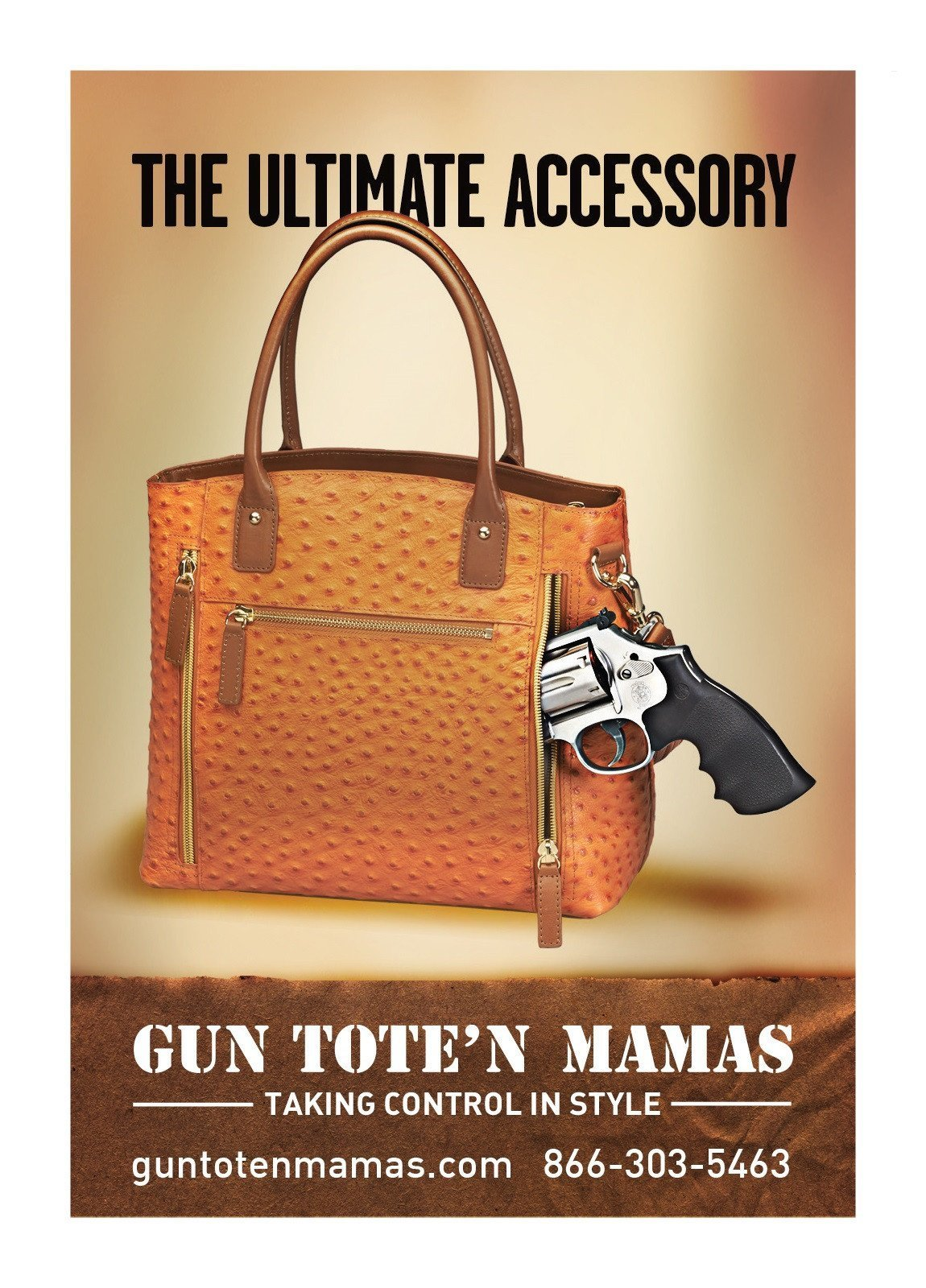 The Ultimate Accessory! The GTM-51 Town Tote