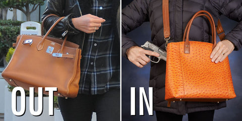Concealed Carry Purses Are the New Hermès Birkins It's the bag trend you never saw coming.