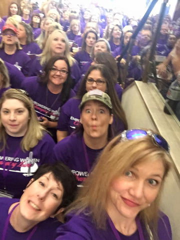 Sea of Purple at The Well Armed Woman Conference