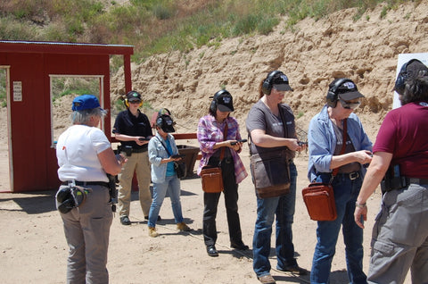 Gun Tote'n Mamas Range Day with DTI, Inc.