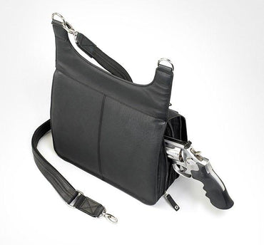 GTM-12 Jennifer's Traveler (BLACK in stock 9/12) - Concealed Carry Handbags - CCW Purses - GunTotenMamas