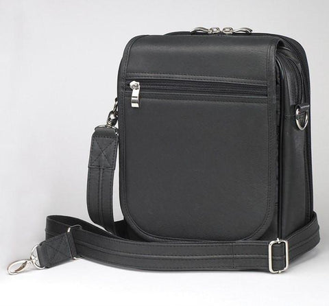 GTM-14 Concealed Carry Urban Shoulder Bag Black - GunTotenMamas