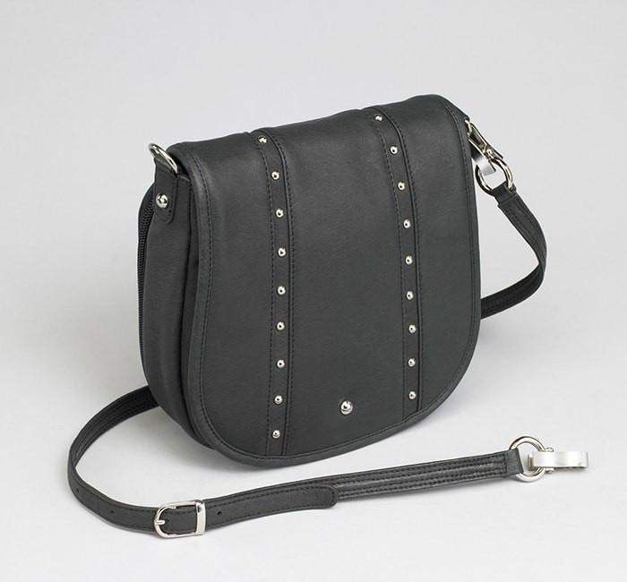GTM-18 Simple Bling Black - Concealed Carry Handbags - CCW Purses - GunTotenMamas