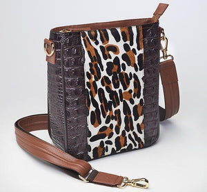 GTM-25 Leopard Print Vertical (Limited Edition) - Concealed Carry Handbags - CCW Purses - GunTotenMamas