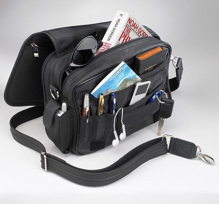 GTM-28 Classic Boston Bag Black - GunTotenMamas