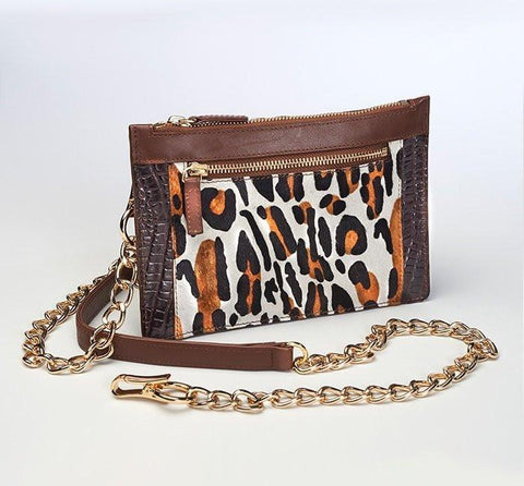 GTM-29 Leopard Print Chained Wallet (Limited Edition) - GunTotenMamas