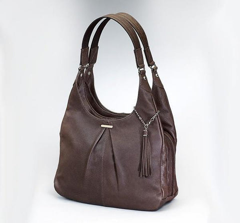 GTM-32 Pleated Slouch - 2 Colors - Concealed Carry Handbags - CCW Purses - GunTotenMamas