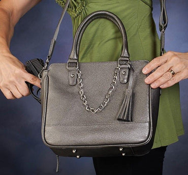 GTM-52 Park Avenue Tote - 3 Colors - Concealed Carry Handbags - CCW Purses - GunTotenMamas