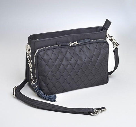 GTM/QMF-22 Quilted Shoulder Clutch - GunTotenMamas