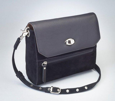 GTM-87 Suede Hand Clutch - 5 Colors - Concealed Carry Handbags - CCW Purses - GunTotenMamas
