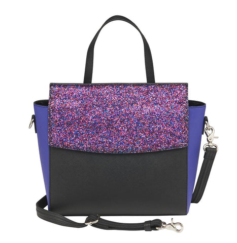 Glitter RFID CrossBody Sparkle Purse GTM–105/PUR - Concealed Carry Handbags - CCW Purses - GunTotenMamas