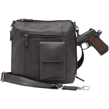 GTM-20 Concealed Carry Flat Sac - 4 Colors - Concealed Carry Handbags - CCW Purses - GunTotenMamas