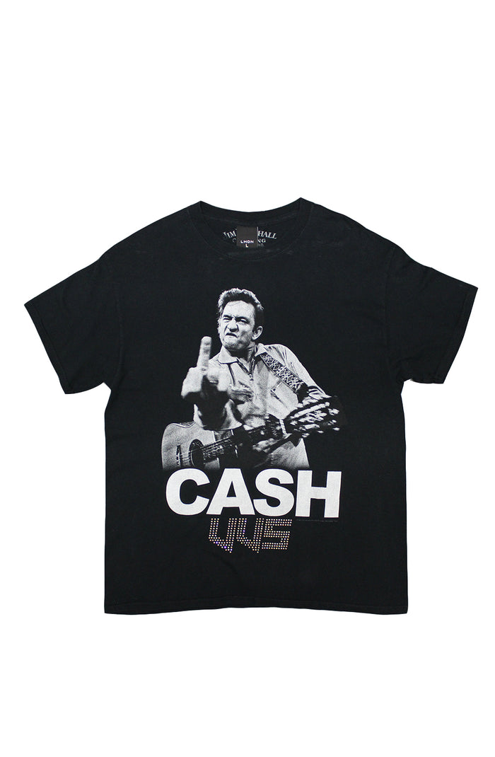 Vintage VVS T-Shirt - Johnny Cash Fuck You 1990's