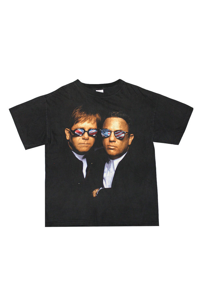 Vintage T-Shirt - Elton John & Billy Joel Face To Face 1994