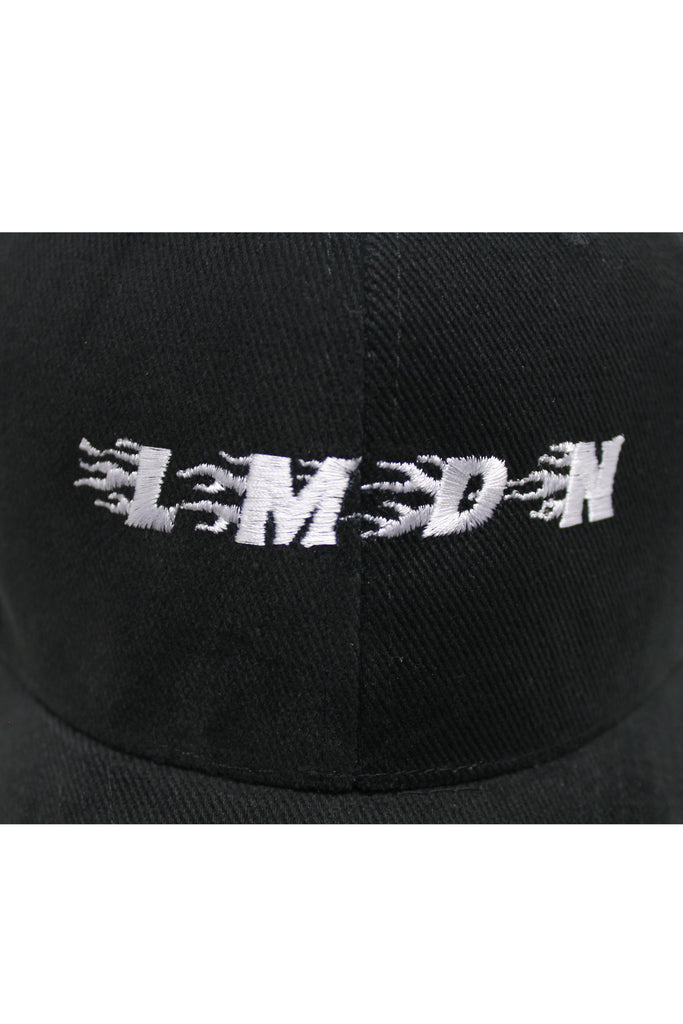Flame Logo Cap - Black