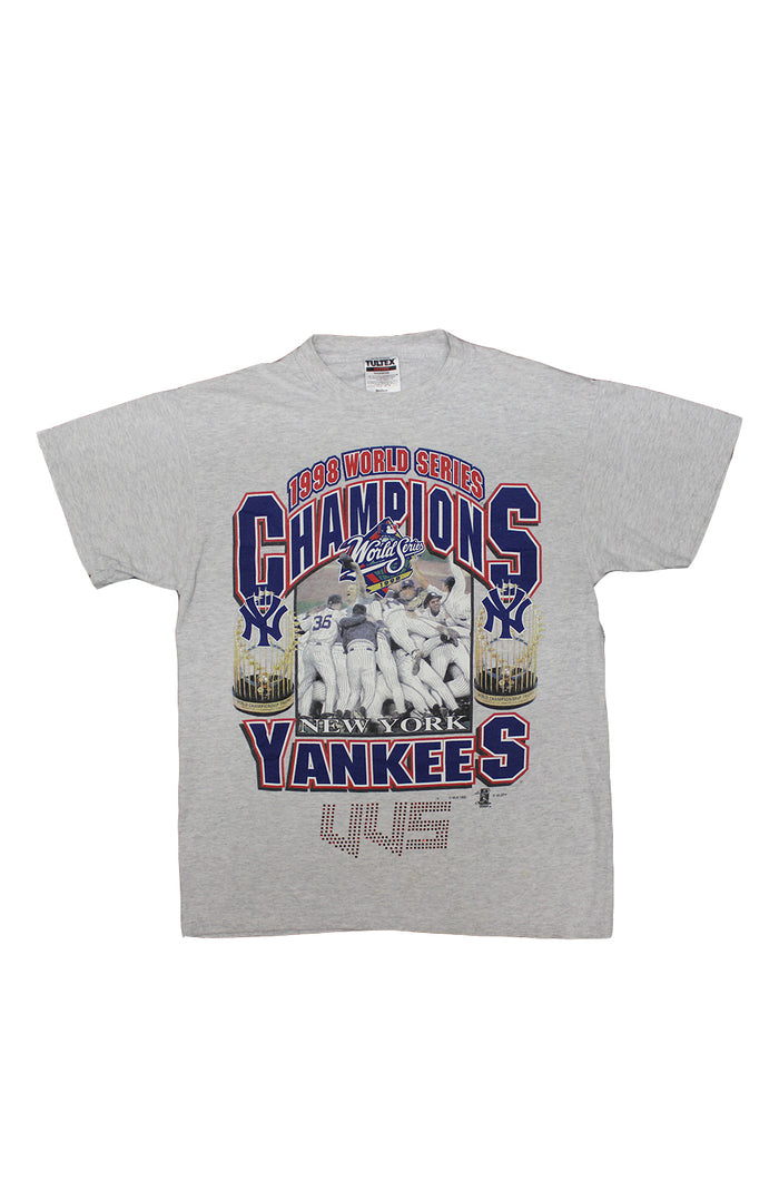 Vintage VVS T-Shirt - MLB New York Yankees Champions 1998