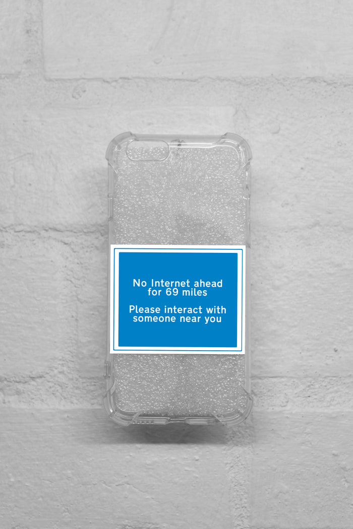 iPhone Case - Clear Road Signs