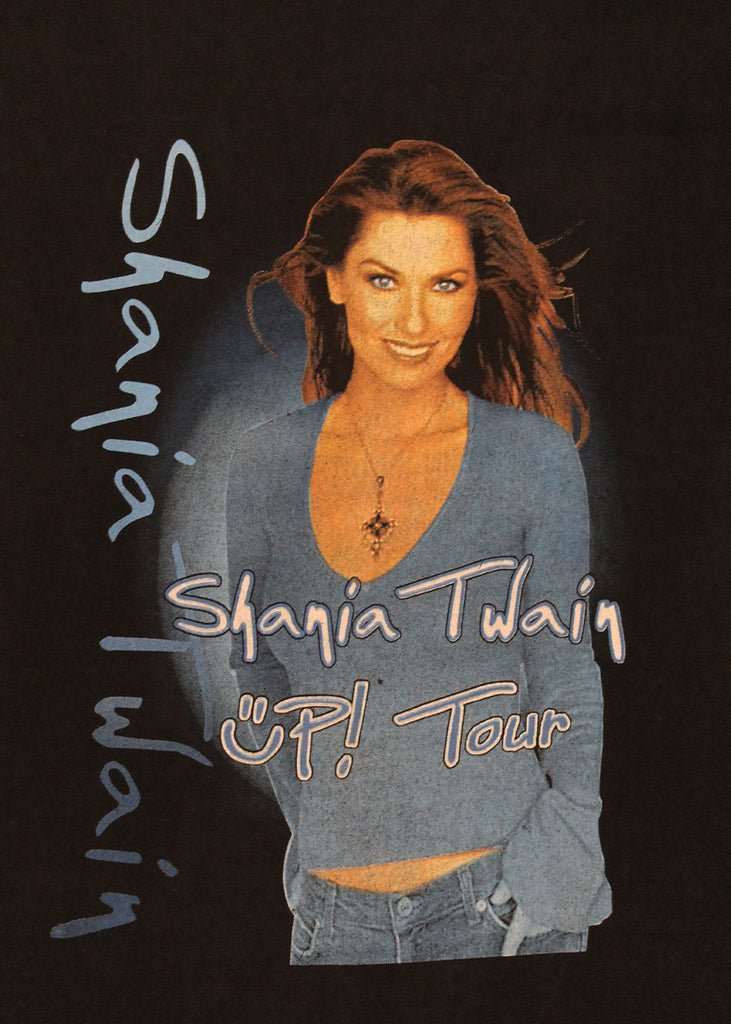 Vintage T-Shirt - Shania Twain UP! Tour 2003