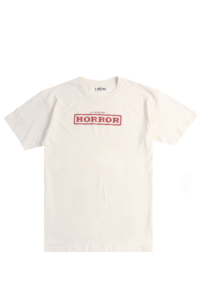 Horror T-Shirt - Beige