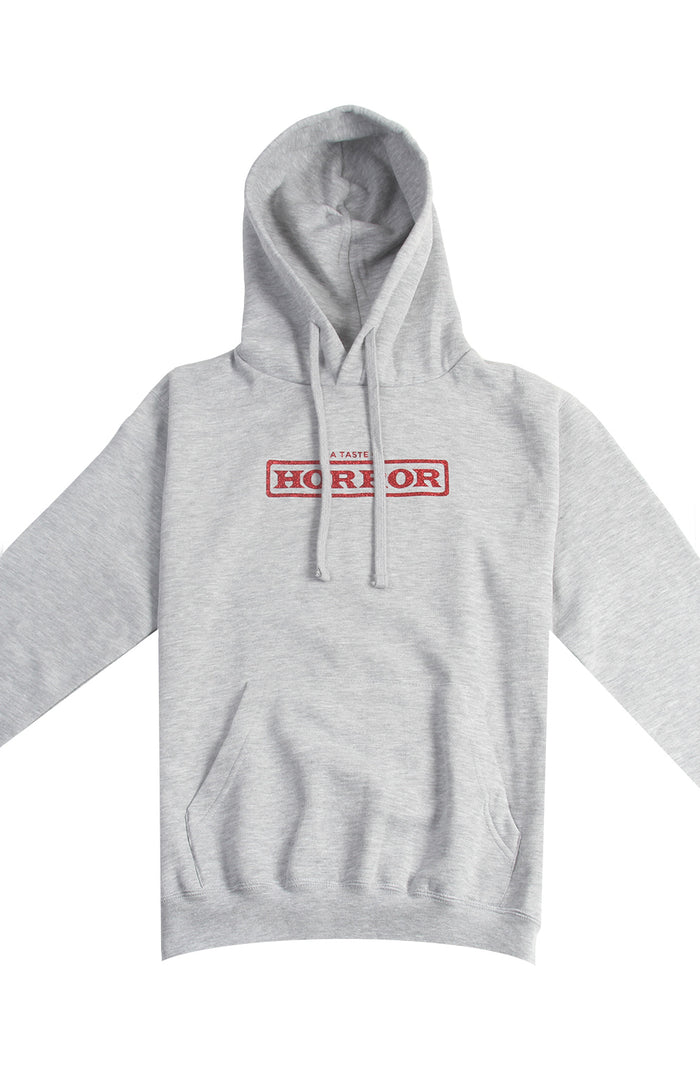 A Taste Of Horror Hoodie - Heather Grey