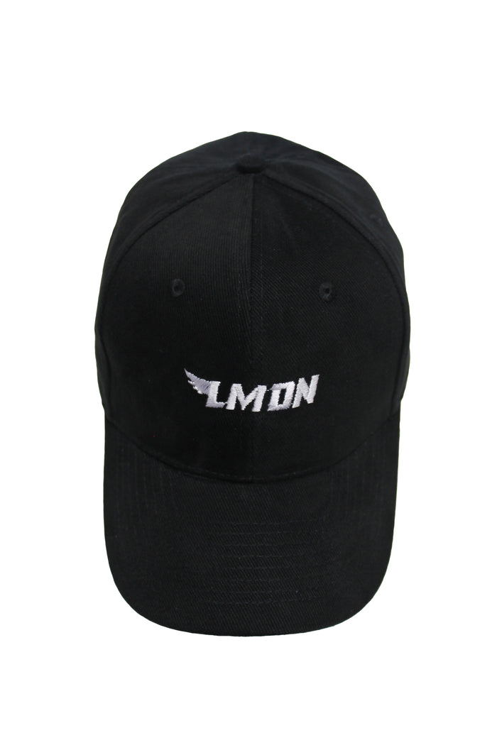 Winged Logo Cap - Black