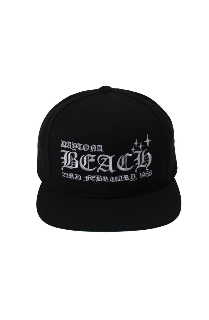 Daytona Snapback - Black/White