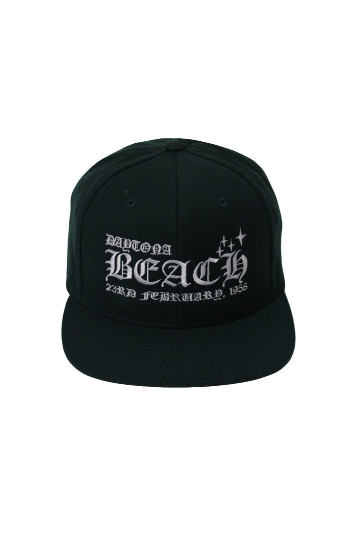 Daytona Snapback - Green/White