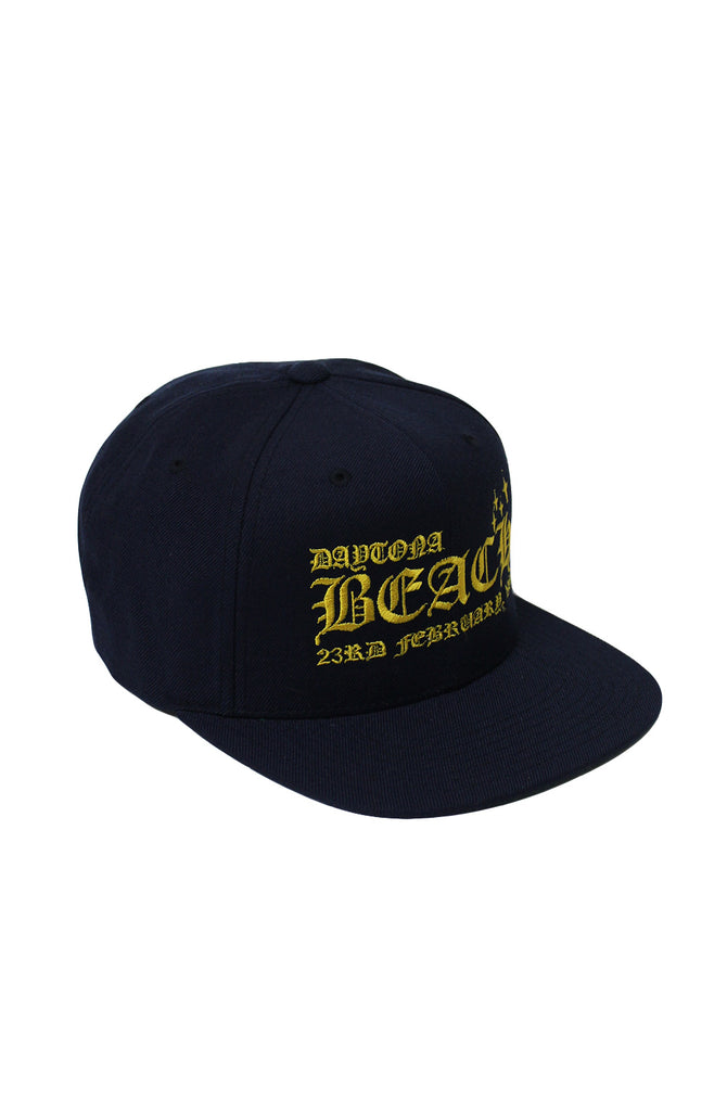 Daytona Snapback - Navy/Yellow
