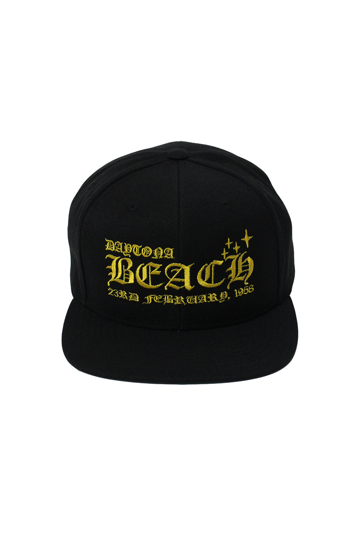 Daytona Snapback - Black/Yellow