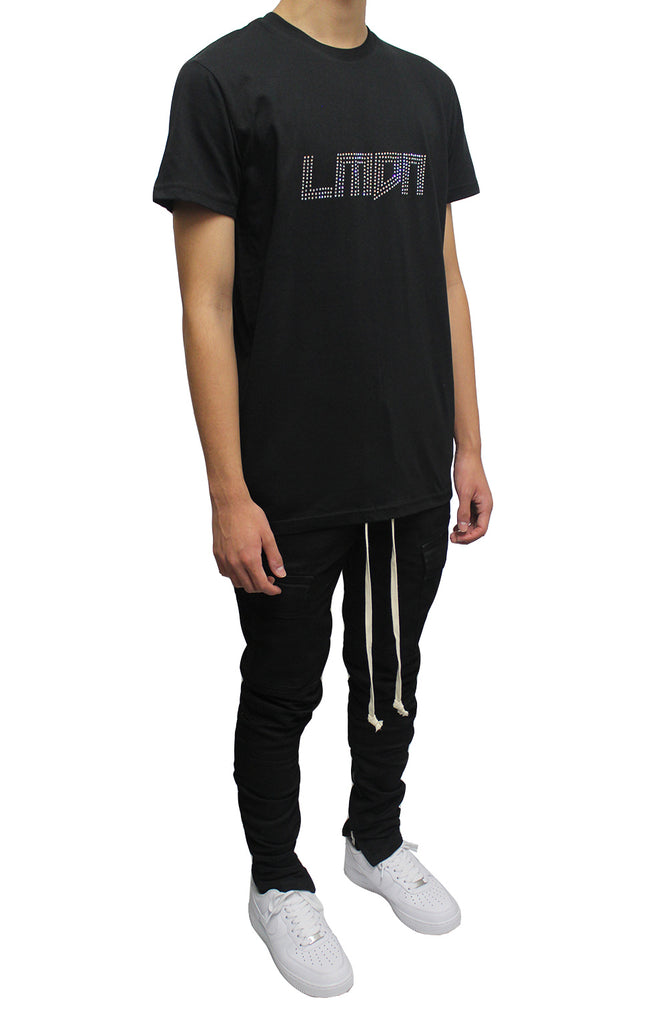 Cargo Pants - Black/Off White