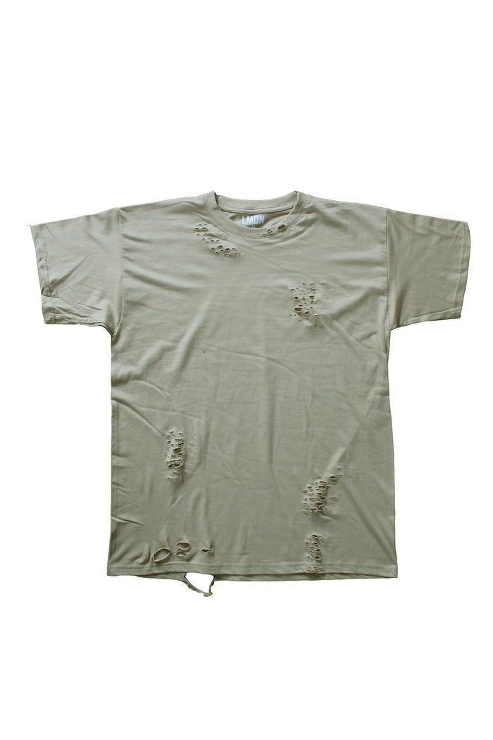 Distressed T-Shirt - Sand
