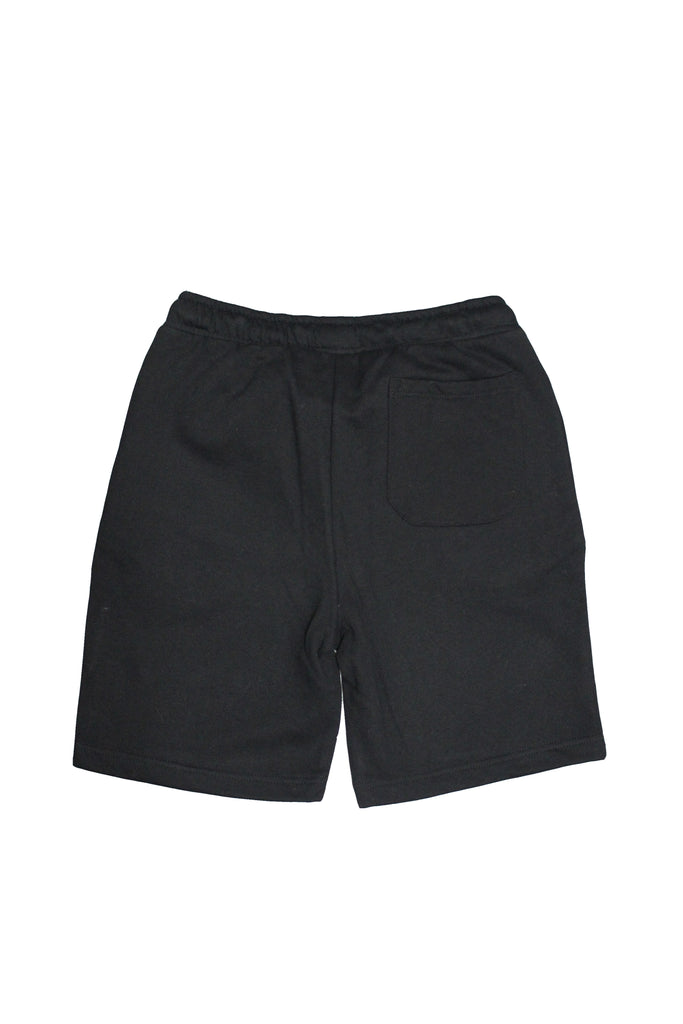 Drawstring Shorts - Black/Yellow