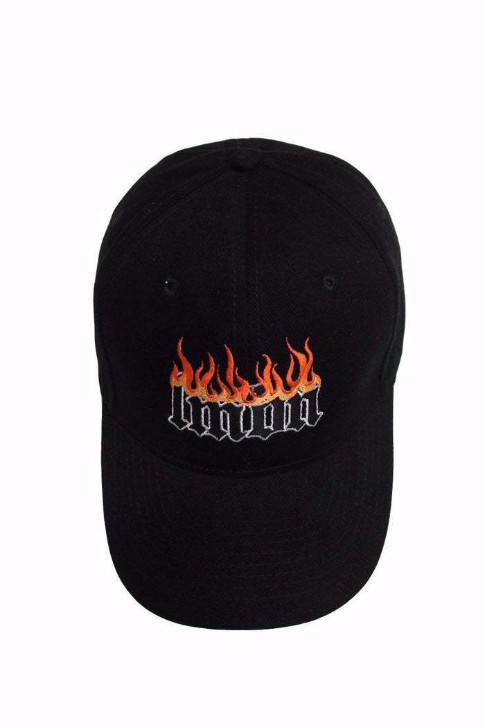 Logo Cap Black - Flame