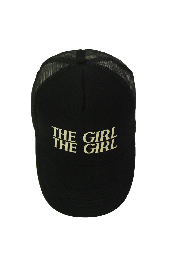 .Handsome Trucker Cap - Black