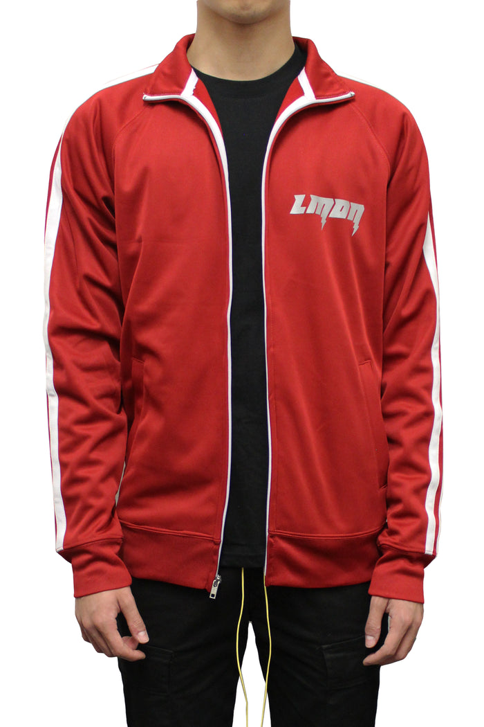 3M Bolt Track Jacket - Gym Red