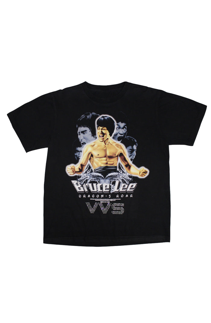 Vintage VVS T-Shirt - Bruce Lee Dragon's Roar 2000's