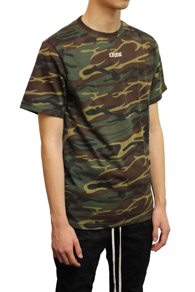 English Camo T-Shirt - Green