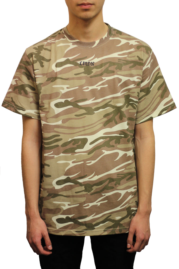 English Camo T-Shirt - Desert