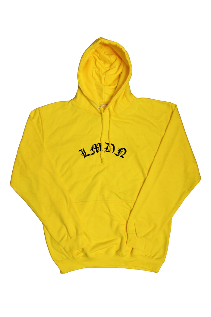 English Hoodie - Sundry Yellow
