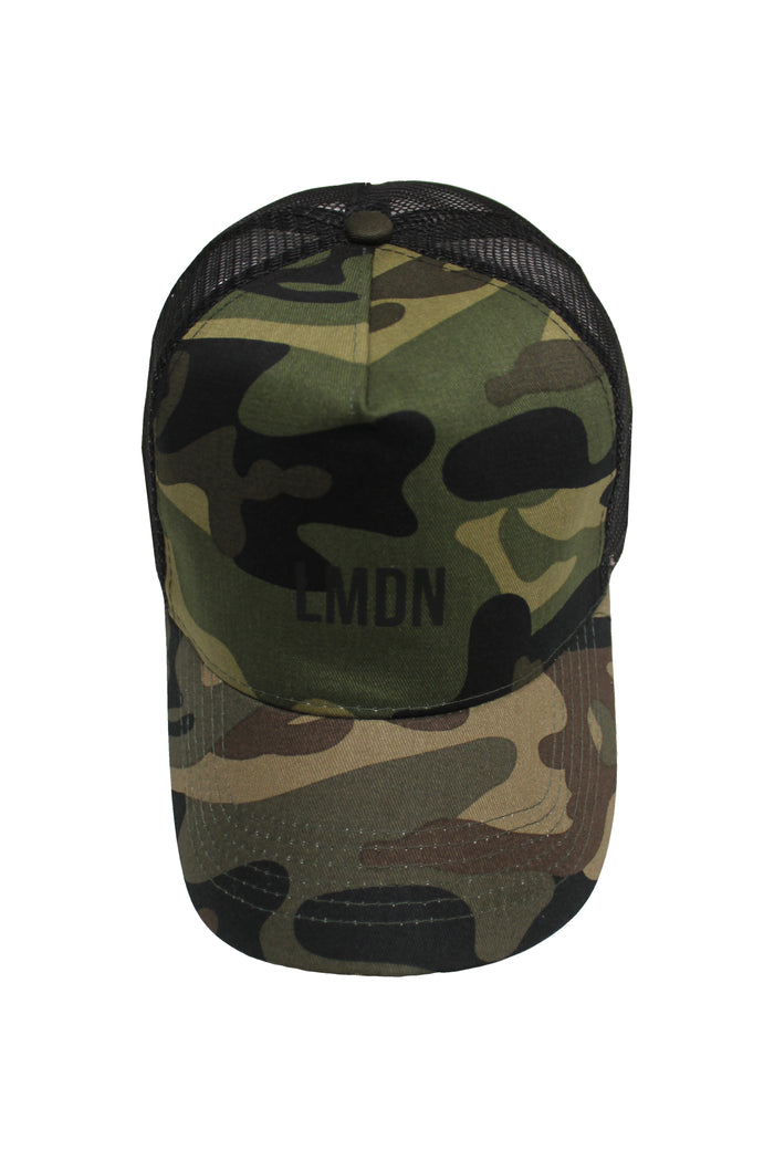 Camo Trucker Cap - Green