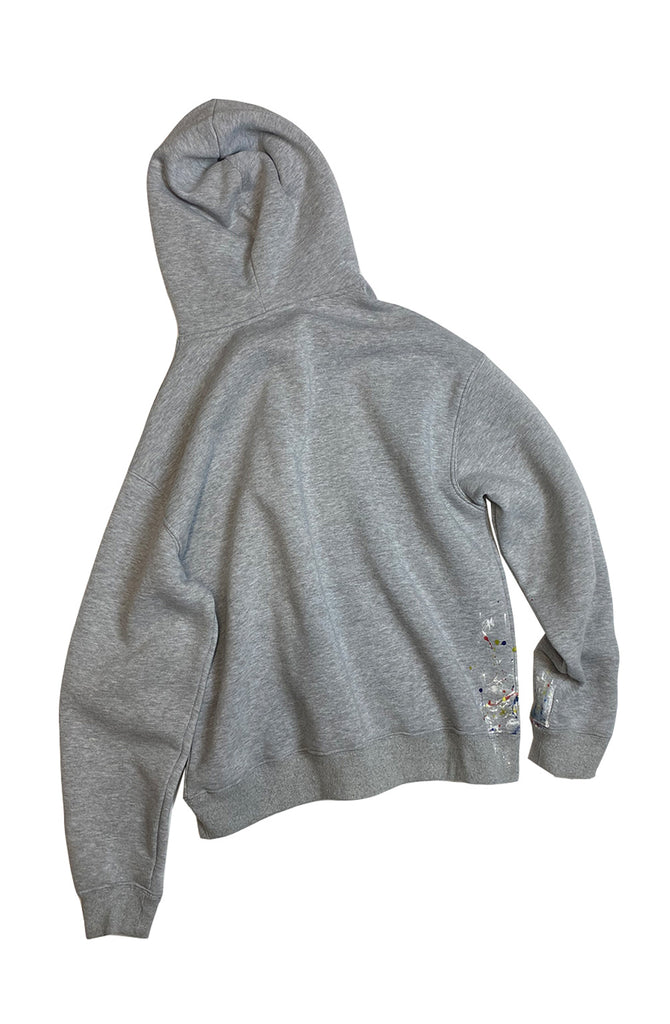 Reworked Painters Hoodie - Grey Medium