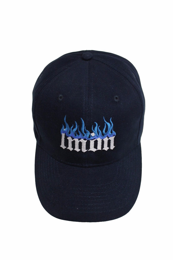 Logo Cap Navy - Inverted Flame