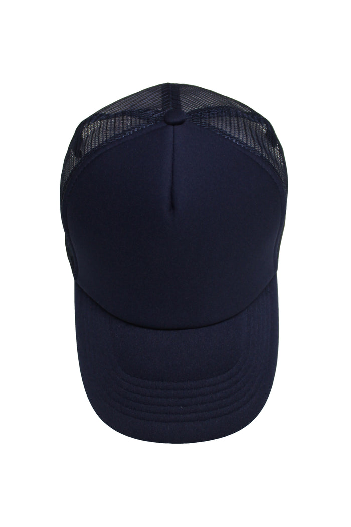 Neoprene Trucker Cap - Navy