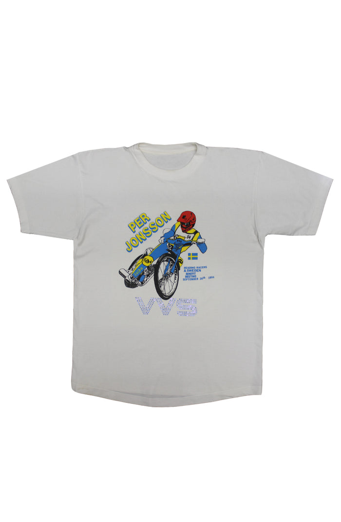 Vintage VVS T-Shirt - Per Jonsson Reading Racers 1994